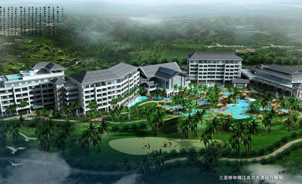 三亚明申锦江高尔夫酒店